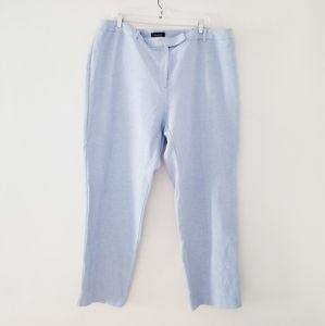 Talbots high waisted straight pant